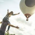 Chèque cadeau pour un vol en montgolfière