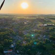 Vol en montgolfière dans le Brabant Wallon